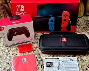 New Nintendo Switch with extras for Sale in Sherwood,  OR