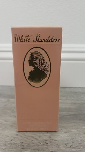 White shoulder 4.2 oz perfume for Sale in San Diego, CA