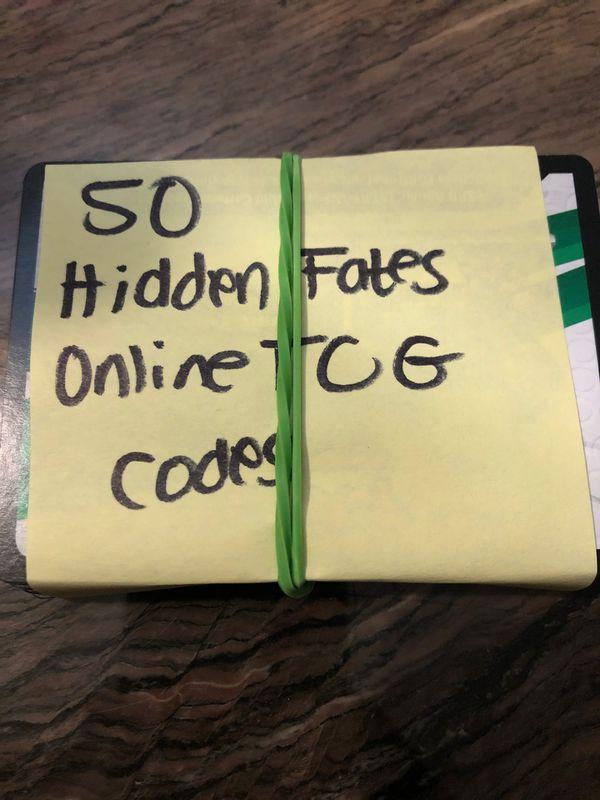 Pokémon TCG online codes
