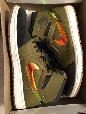 Nuava Green Jordan 1's for Sale in New Port Richey, FL