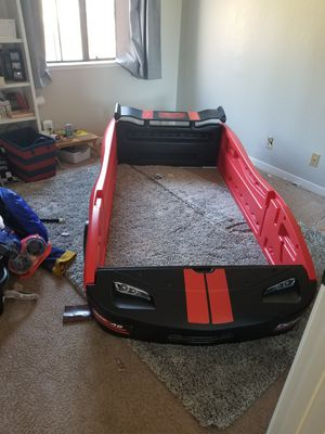 Twin race car bed frame. for Sale in San Ramon, CA