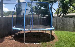 12- Foot Trampoline Enclosure for Sale in Clearwater, FL