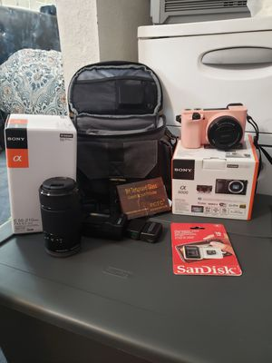 SONY Camera a6000 for Sale in Las Vegas, NV