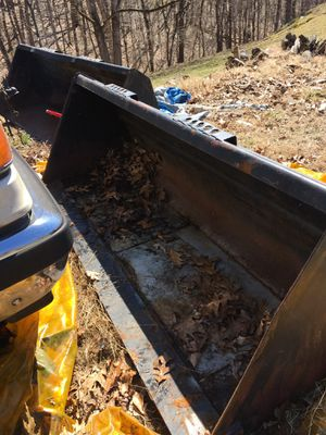 2 skid loader buckets for Sale in Knoxville, MD