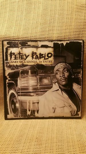 """Petey Pablo """"Diary Of A Sinner First Entry"""" 2XLPvinyl records Hip Hop for Sale in San Diego, CA"""