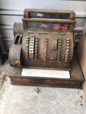 Antique Cash Register for Sale in Concord, MA