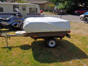 Trailer for motorcycle or small car for Sale in Vancouver, WA