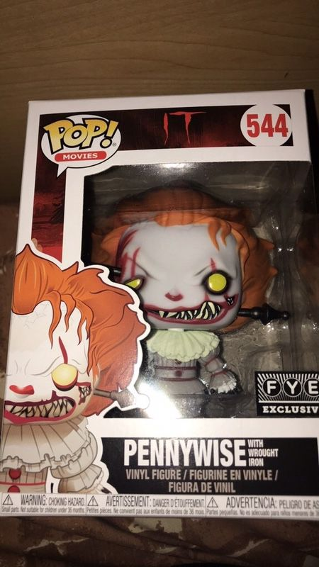 Pennywise Funko Pop Fye Exclusive