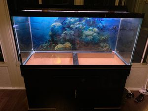 75 gallon fish tank with ligh for Sale in Federal Way, WA
