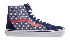 VANS SK8-Hi Van Doren Stars & Stripes USA America Red Reissue Shoes Mens sz 5.5 Womens 7 for Sale in Plano, TX