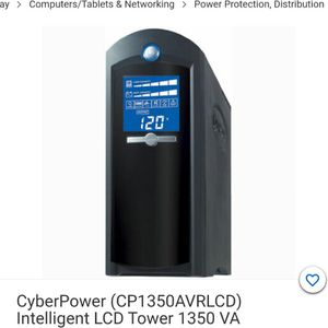 Cyber Power 1350AVR Smart Backup Surge Protect for Sale in Hayward, CA