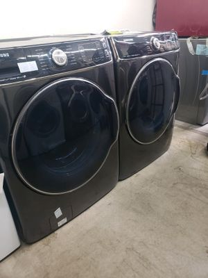 Samsung Front Load Washer & Gas Dryer Set Extra Large Capacity for Sale in Orange, CA