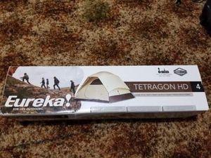 Unopened Eureka! Tetragon HD(4 Person) Tent for Sale in Binghamton, NY