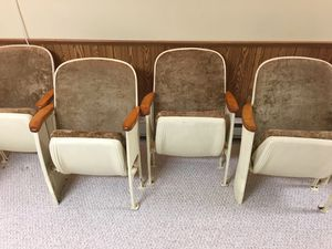Vintage Theater Seats for Sale in Peoria, IL
