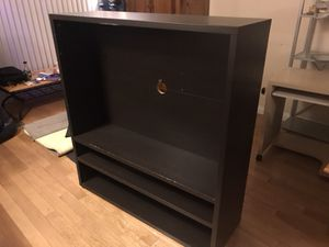 Black IKEA TV/Entertainment Stand for Sale in West Hollywood, CA
