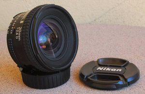 Nikon AF Nikkor 20mm F2.8 D lens for Sale in Apache Junction, AZ