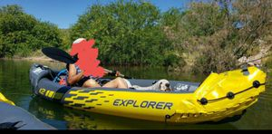 Intex Explorer inflatable kayak, 2 person for Sale in Phoenix, AZ