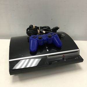 Sony PlayStation 3 PS3 80GB Black Console with Controller and Cables for Sale in Lynn, MA