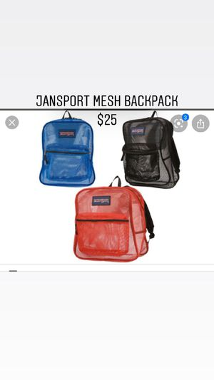 Jansport backpack and mask for Sale in Vernon, CA
