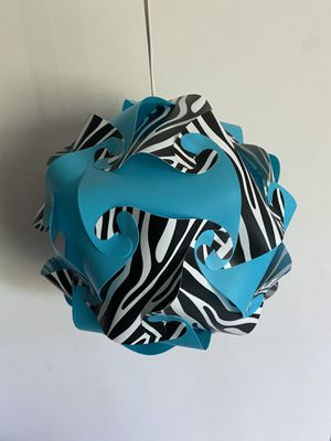 Hanging plastic puzzle light for Sale in Coon Rapids, MN