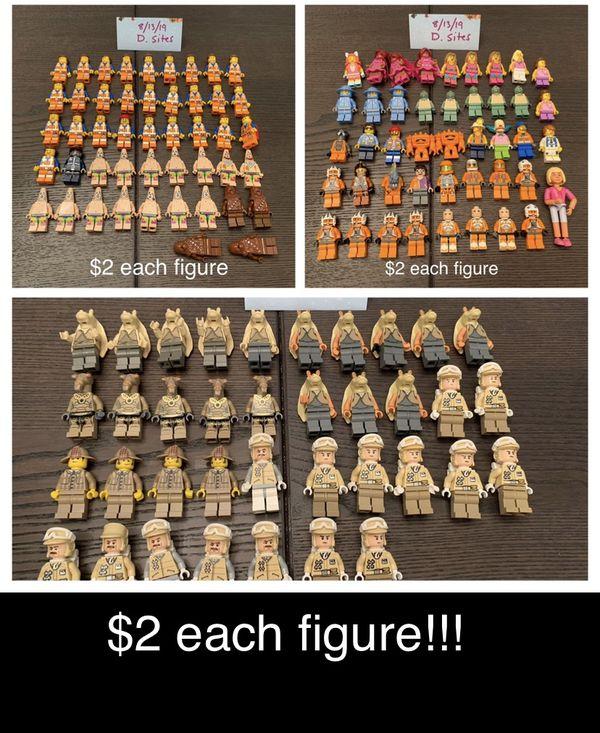 LEGO minifigures!!! $2 each