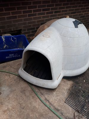 XL igloo dog house for sale $60 for Sale in Oklahoma City, OK