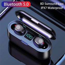 Bluetooth Wireless Earbuds Earphones Noise Reduction Waterproof Charger for Sale in Fountain Valley,  CA
