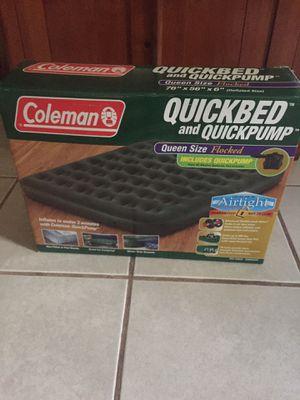 Coleman quick bed for Sale in Millsboro, DE