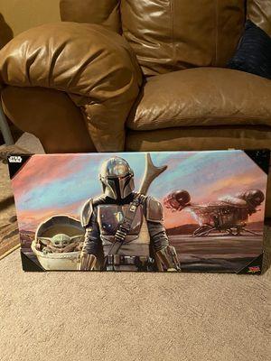 Mandalorian Canvas for Sale in Nuevo, CA