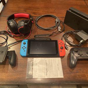 Nintendo Switch plus Accessories for Sale in Montverde, FL