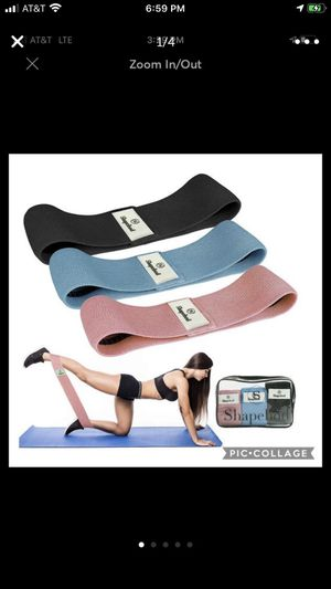 Shape Bod Fabric Resistance Band Set of 3 for Sale in Burnsville, MN