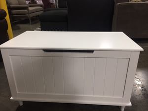 Storage Bench, White | 6609 for Sale in Santa Ana, CA