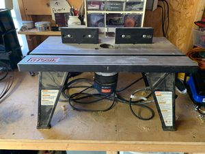 Ryobi R181FB1 router and table for Sale in Buffalo, NY