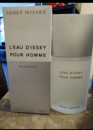 ISSEY MIYAKE for man perfume 💯% Authentic 4.2 oz for Sale in Peoria, AZ