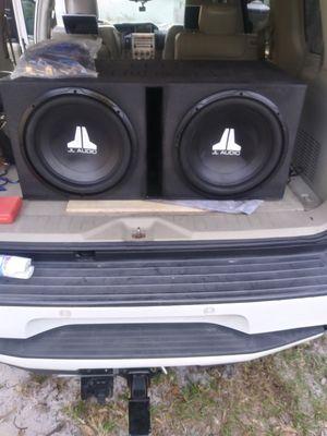 JL Audio 15s JL audio amp 0 gauge amp kit bass knob for Sale in Eagle Lake, FL