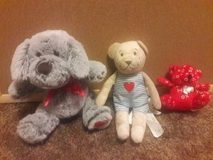 Set of 3 stuffed animals for Sale in Vancouver, WA
