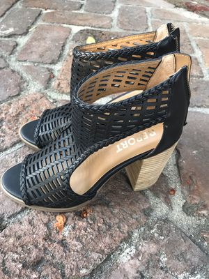 Womens sandals shoes size 8 black high heels for Sale in Arcadia, CA