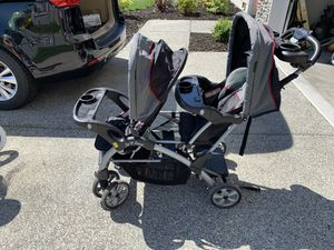 Double stroller Sit Stand for Sale in Burlington, WA