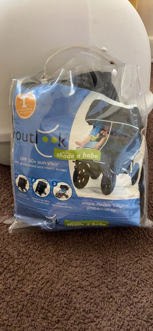 Double stroller sunshade for Sale in Long Beach, CA