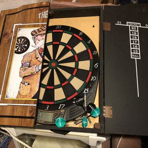 Dart Board With Case for Sale in Andover, MN
