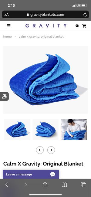 Weighted blanket for Sale in Renton, WA