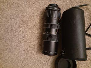 Vendo lente de cámara profesional en buen estado marka makinon for Sale in Santa Ana, CA