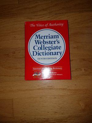 Merriam Webster Collegiate Dictionary for Sale in Umatilla, FL