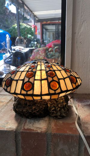 Stained Glass Clam Lamp for Sale in Tacoma, WA