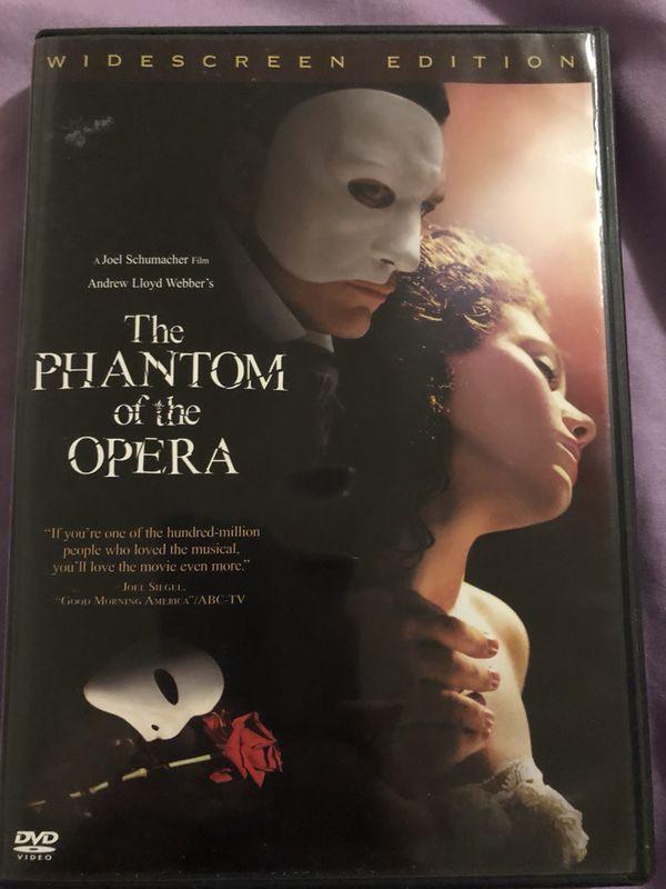 The Phantom of the Opera, DVD