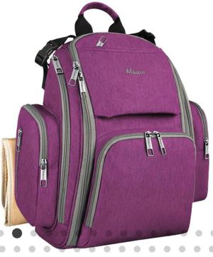 Brand new- Diaper Bag Backpack Changing Mat, Insulated Pockets for Sale in Nashville, TN