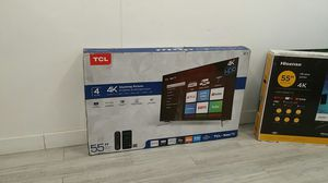 55 Smart 4k Tcl Roku UHD TV HDR for Sale in City of Industry, CA