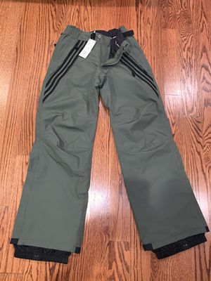 2019 NWT MENS ADIDAS ORIGINAL RIDING SNOWBOARD PANTS Olive Green Size XS for Sale in Elk Grove Village, IL