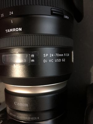 Tamron 24-70 G2 for Canon for Sale in East Carondelet, IL
