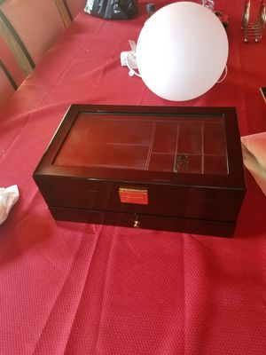 Jewelry box for bracelets rings and watches and charms unisex for Sale in Cleveland, OH